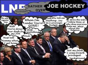 joe hockey clouds