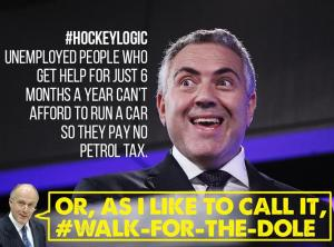 walk for the dole