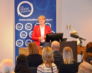 Plibersek at Mckell
